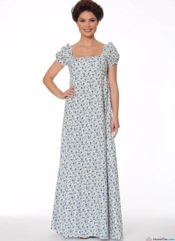 McCalls Pattern M7493 Regency Jane Austen Dress Jacket