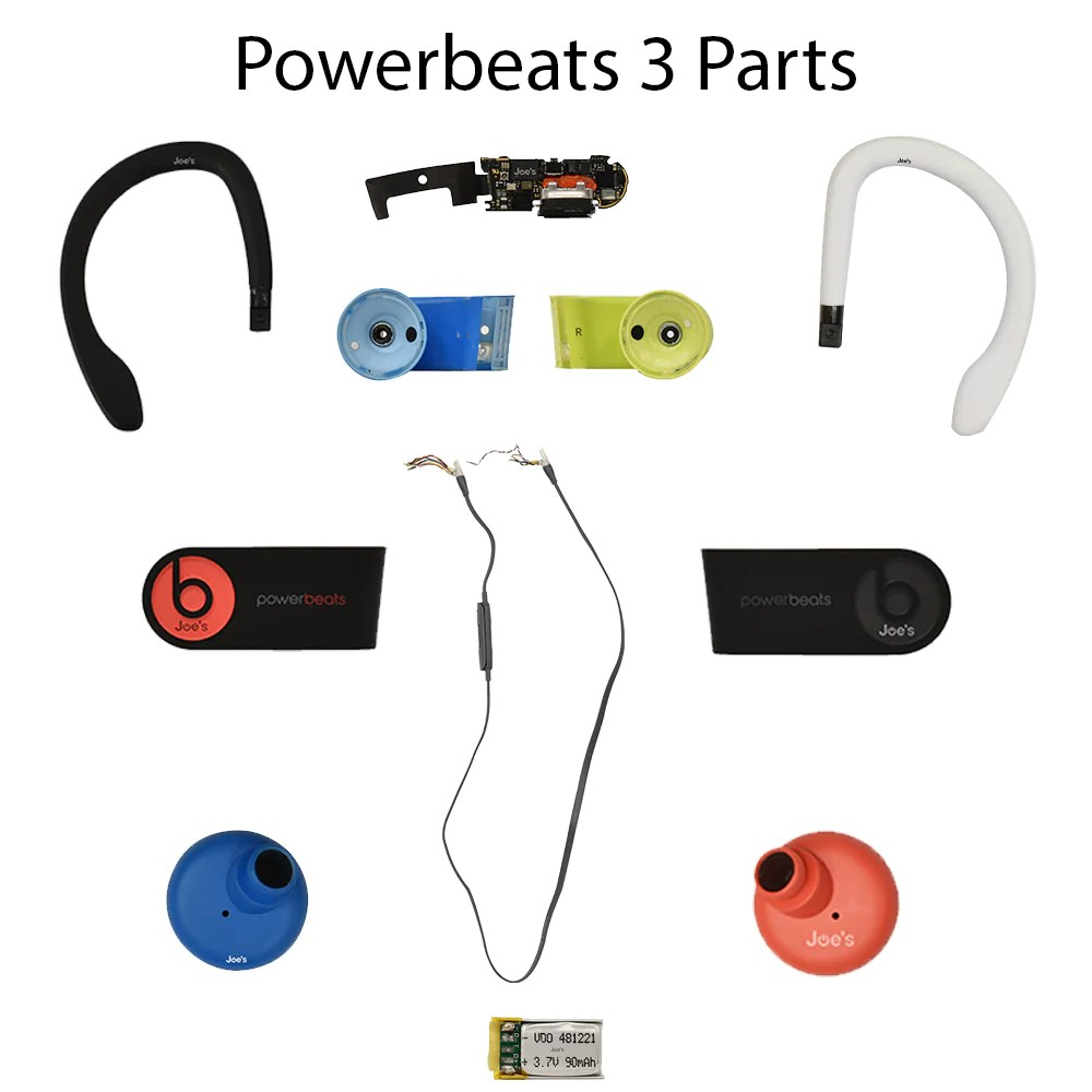 medium resolution of beats by dre powerbeats 3 wireless repair parts joe s gaming electronics