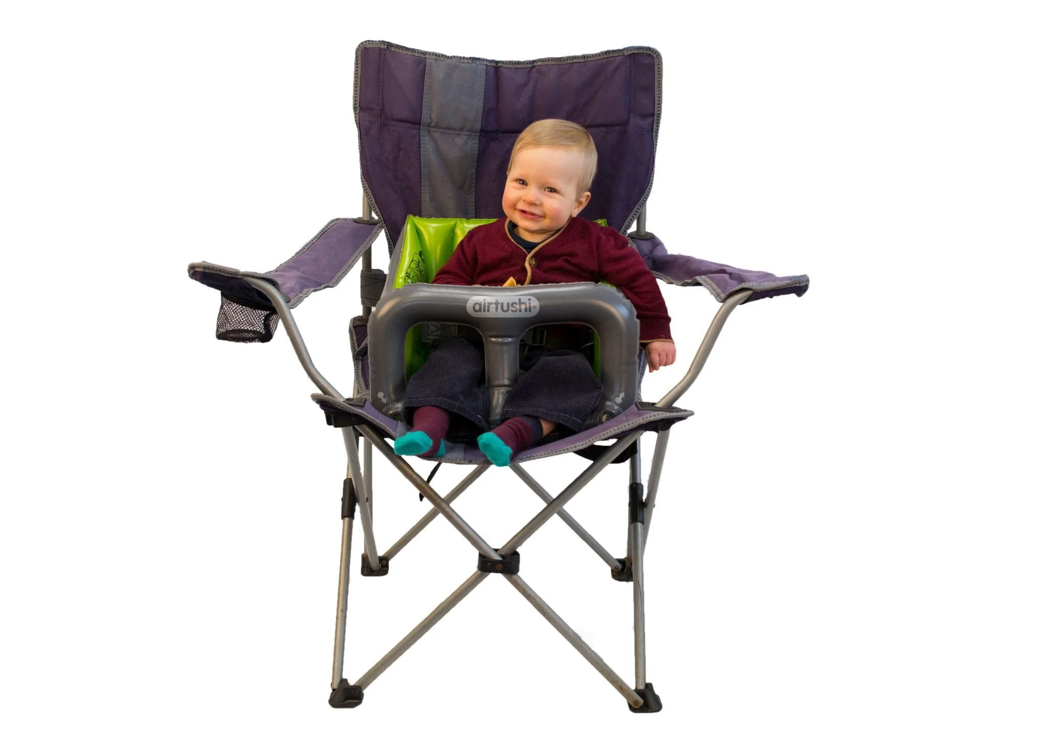 cloth portable high chair adirondack sale airtushi fully inflatable safe travel  home2yard