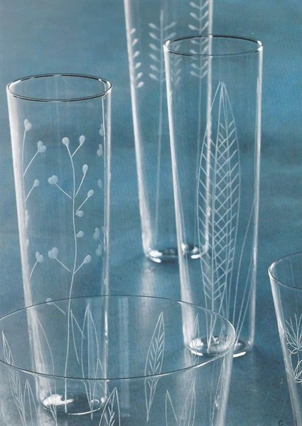 Roost Etched Botanical Glasses SHOP NECTAR