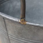 Galvanised Bucket Planters Set Of 3 Vincent And Barn