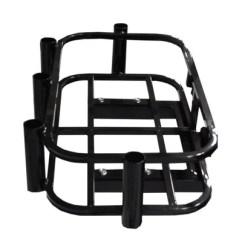 Universal Fishing Chair Attachments Saarinen Executive Armless Golf Cart Hitch Mounted Cooler Rod Holder Hunting Attachment Wheelz Custom