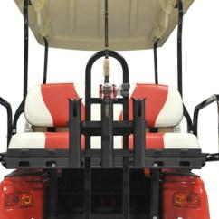 Universal Fishing Chair Attachments Rectangular Leg Glides Hunting Golf Cart Diy Parts Supplies Wheelz Custom Carts Rear Seat Kit Pole Holder Attachment Accessories
