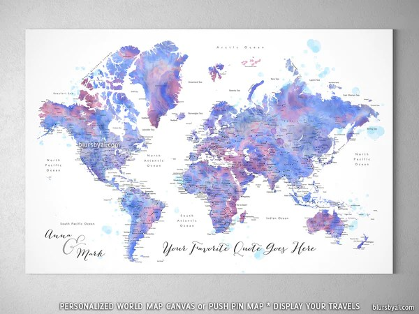 printable map of the world black and white