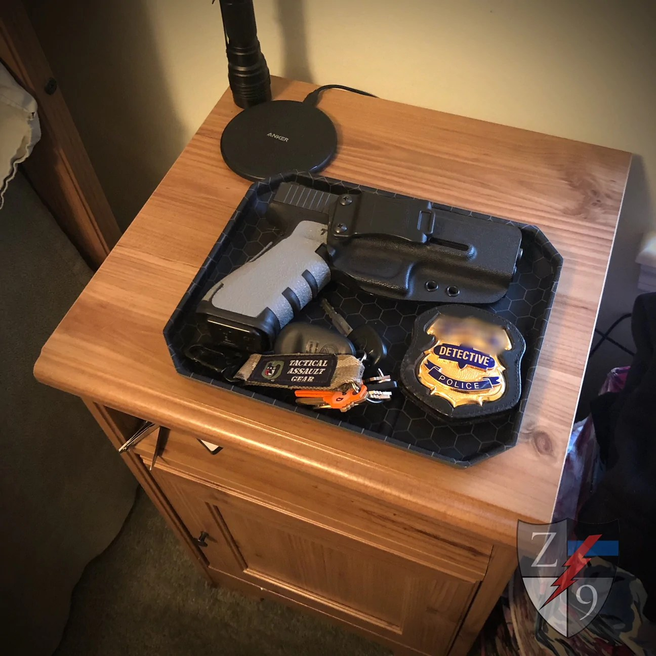 edc dump tray zero9