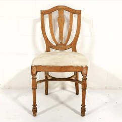 Maple Dining Room Chairs X3 Office Chair Vintage In Brazilian Ivory Cowhide