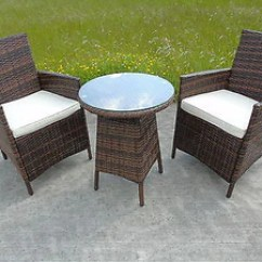 Two Seat Lawn Chairs Green Cube Rattan 2 Seater Dining Wicker Bistro Outdoor Garden Furnitu Uk Leisure World