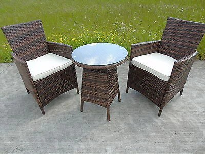 two seater garden table and chairs leather office australia rattan 2 dining wicker bistro outdoor furniture set