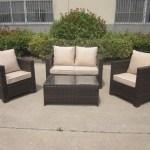 New Rattan Corner Brown Wicker Conservatory Outdoor Garden Furniture S Uk Leisure World