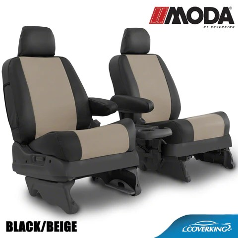 Coverking Moda Leatherette Custom Fit Seat Covers For