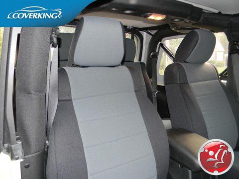 Genuine Neoprene Custom Seat Covers For Jeep Wrangler Jk