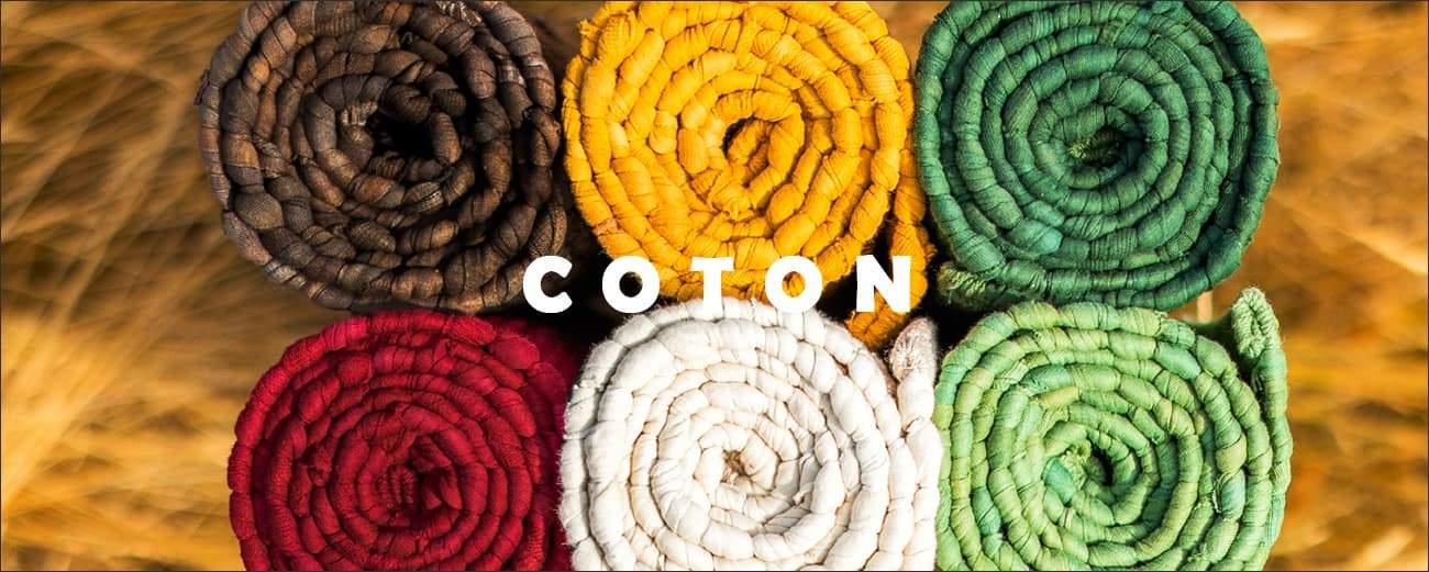 tapis en coton 17 coloris du 100