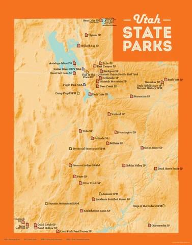 Utah State Parks List Best Maps Ever