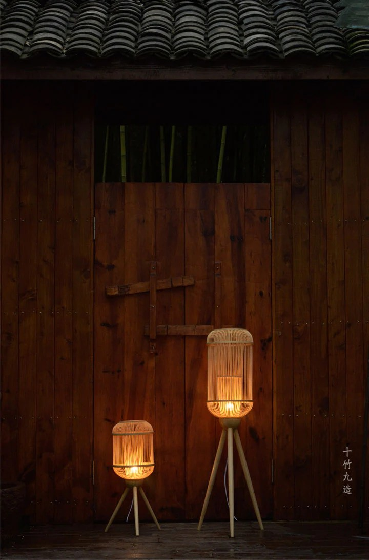Made Bamboo natural bamboo lighting handmade in China