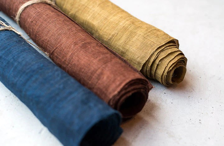 ramie grass cloth fabric rolls by summerwood