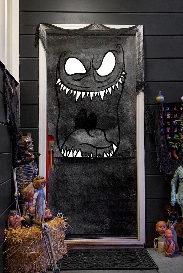 Dreadful Doors Halloween Door Covers  Caravan Shoppe