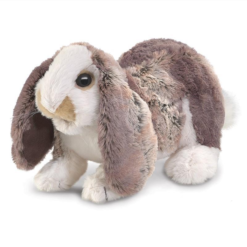 folkmanis baby lop rabbit