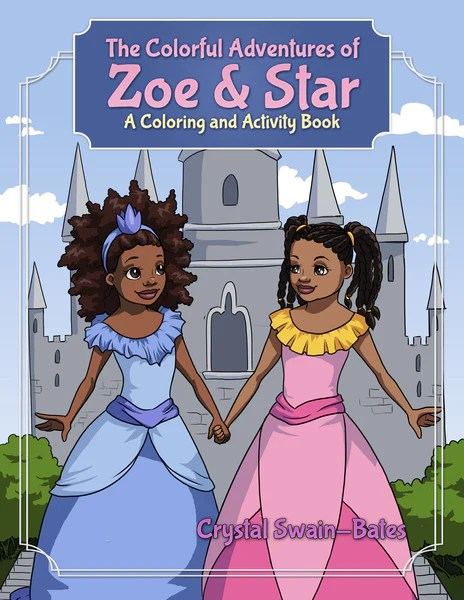 The Colorful Adventures Of Zoe Amp Star Black Childrens