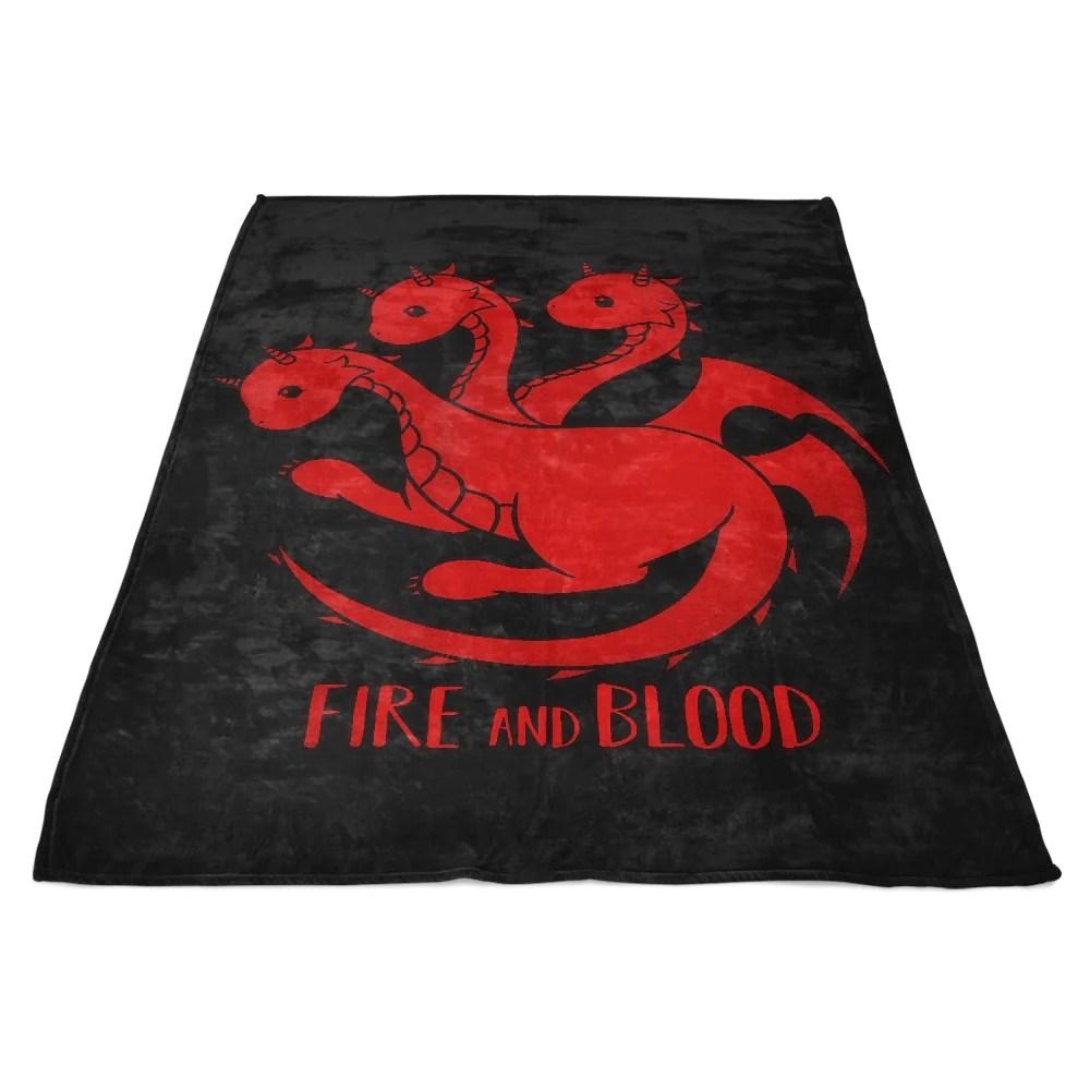 Dragon Kawaii - Fleece Blanket Tee