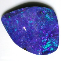 Blue, blue, green,Solid Boulder Opal | Sunriseopals