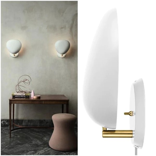 GUBI COBRA WALL LIGHT  HARDWIRED   Eclectic Cool