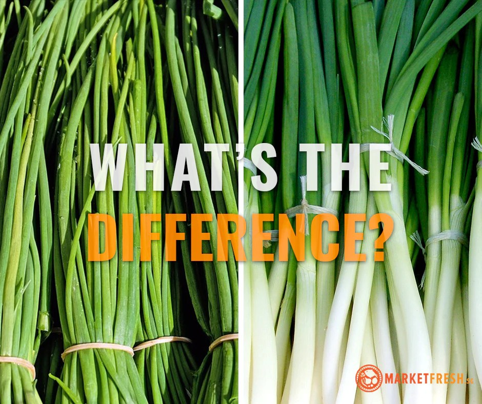 Know your herbs: Spring Onions vs Chives – Market Fresh
