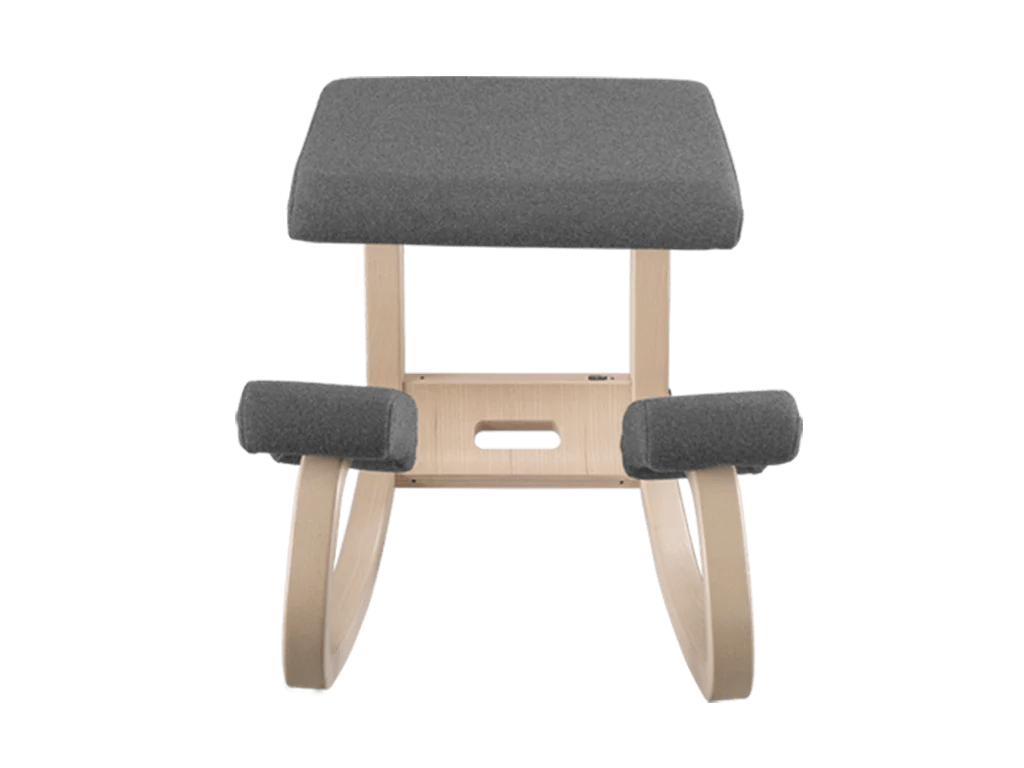 chair with kneeler teak adirondack kneeling standdesk  co