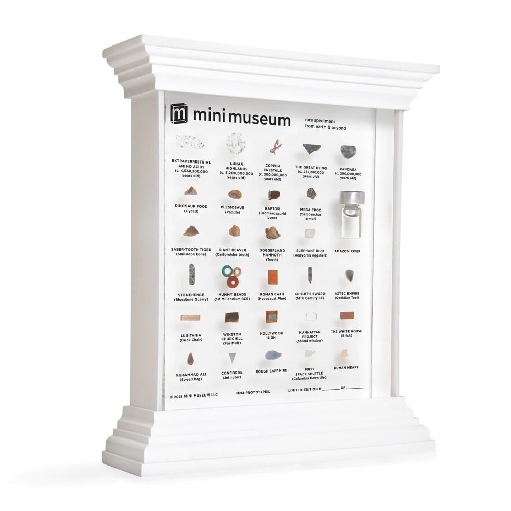 mini museum illuminated led