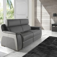 Sofas Y Butacas De Piel Best For Lower Back Pain Sofá Modelo Europa En Color Gris  Sidivani