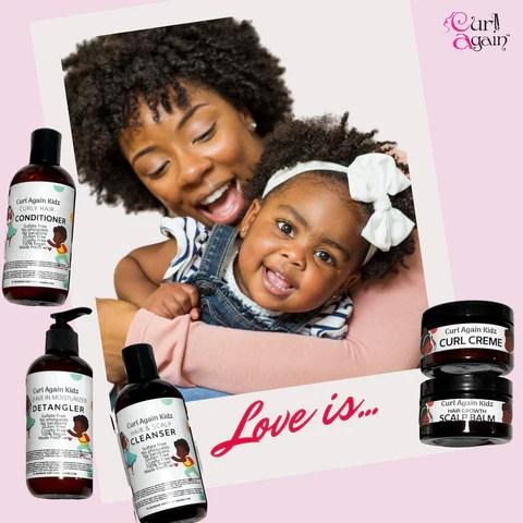 Blog Natural Hair Maintenace For Kids Curl Again