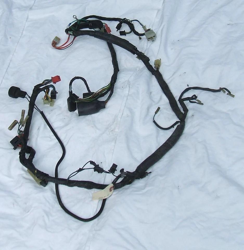 small resolution of 1983 honda interceptor vf750 wire wiring harness