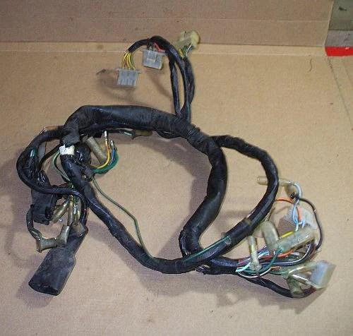 Wire Harness 1978 Honda Cb550 1978 Honda Cb750 K Cb 750 Cb750k Wire Harness 5th Gear Parts