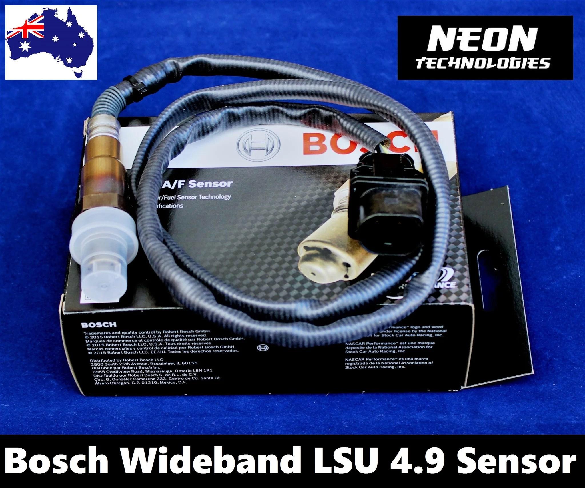 medium resolution of bosch wideband 5 wire lsu 4 9 oxygen sensor bosch lsu4 9 oxygen sensor wideband afr controller sensor wiring