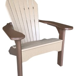 Comfy Outdoor Chair Clear Back Adirondack  Against The Grain