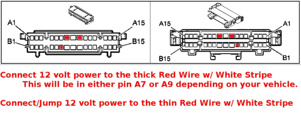 simple headlight wiring diagram 4 way electrical switch 2007-2014 (nnbs) chevy gm seat swap - memory bypass & heat setup – oem car and truck seats