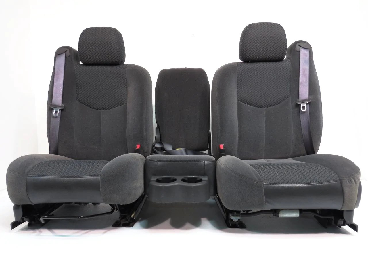 small resolution of chevy gmc truck suv dark grey cloth front seats 2000 2001 2002 2003 2004 2005 2006