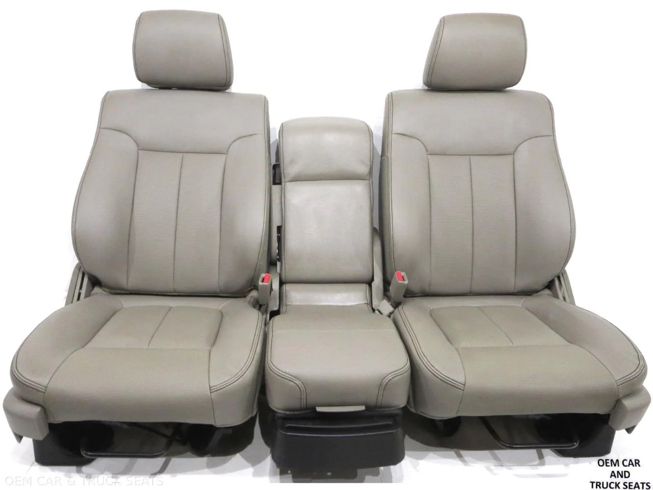 ford f150 f 150 oem stone vinyl seats 2009 2010 2011 2012 2013 2014  [ 1280 x 960 Pixel ]