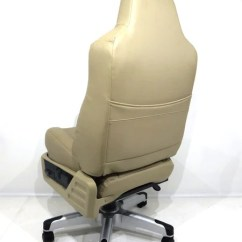 Corvette Seat Office Chair White Leather Chairs For Sale Replacement Ford Super Duty F250 F350 Executive (2008-2010 Style, Tan ...