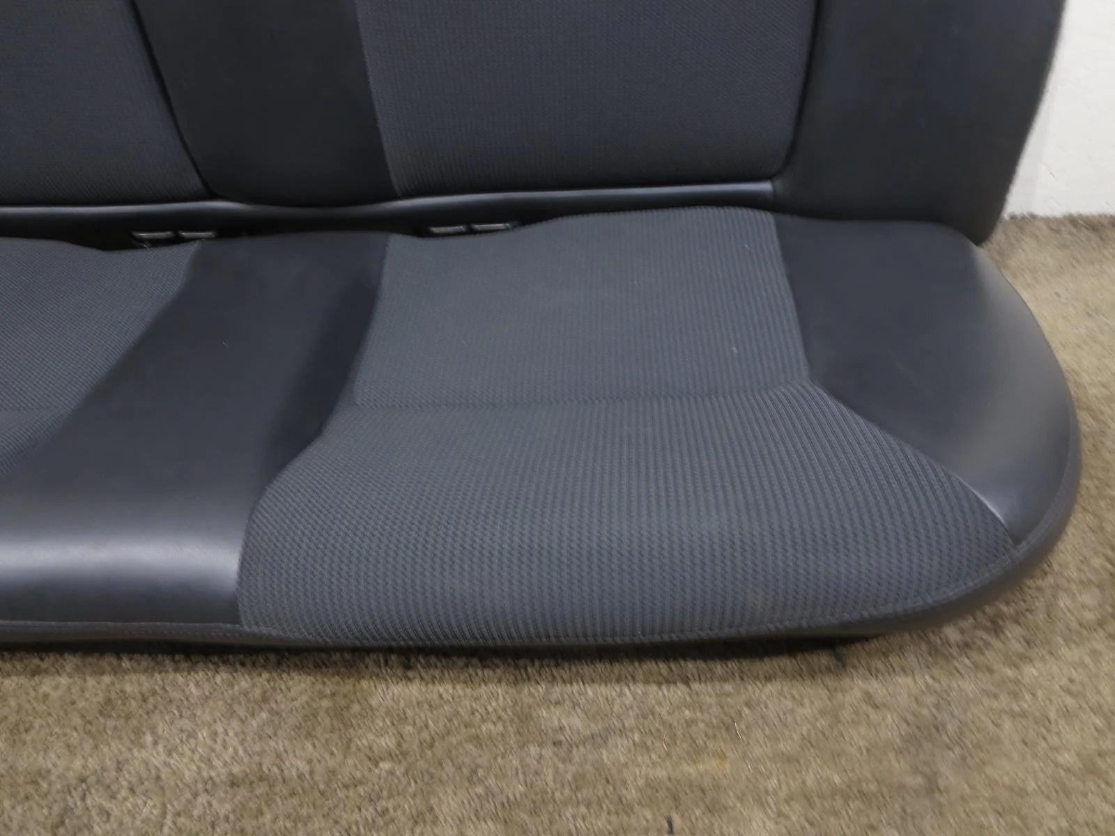 dodge neon srt4 srt 4 viper style black cloth rear seat 2003 2004 2005  [ 1600 x 1200 Pixel ]