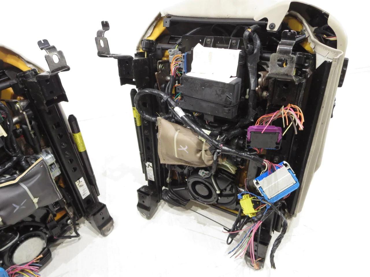medium resolution of  cadillac xlr oem shale leather seats 2004 2005 2006 2007 2008 2009