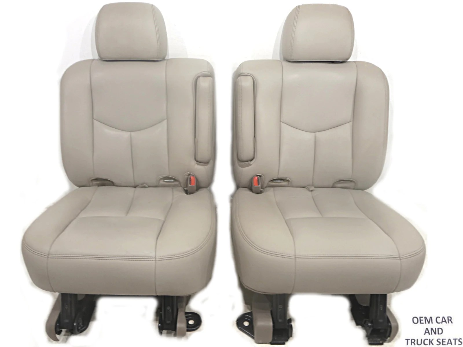 gm suburban oem rear leather bucket seats 2000 2001 2002 2003 2004 2005 2006  [ 1600 x 1200 Pixel ]