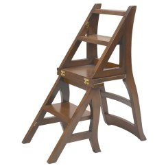Library Chair Ladder Plans Black Gothic Throne Step  Of Congress Shop