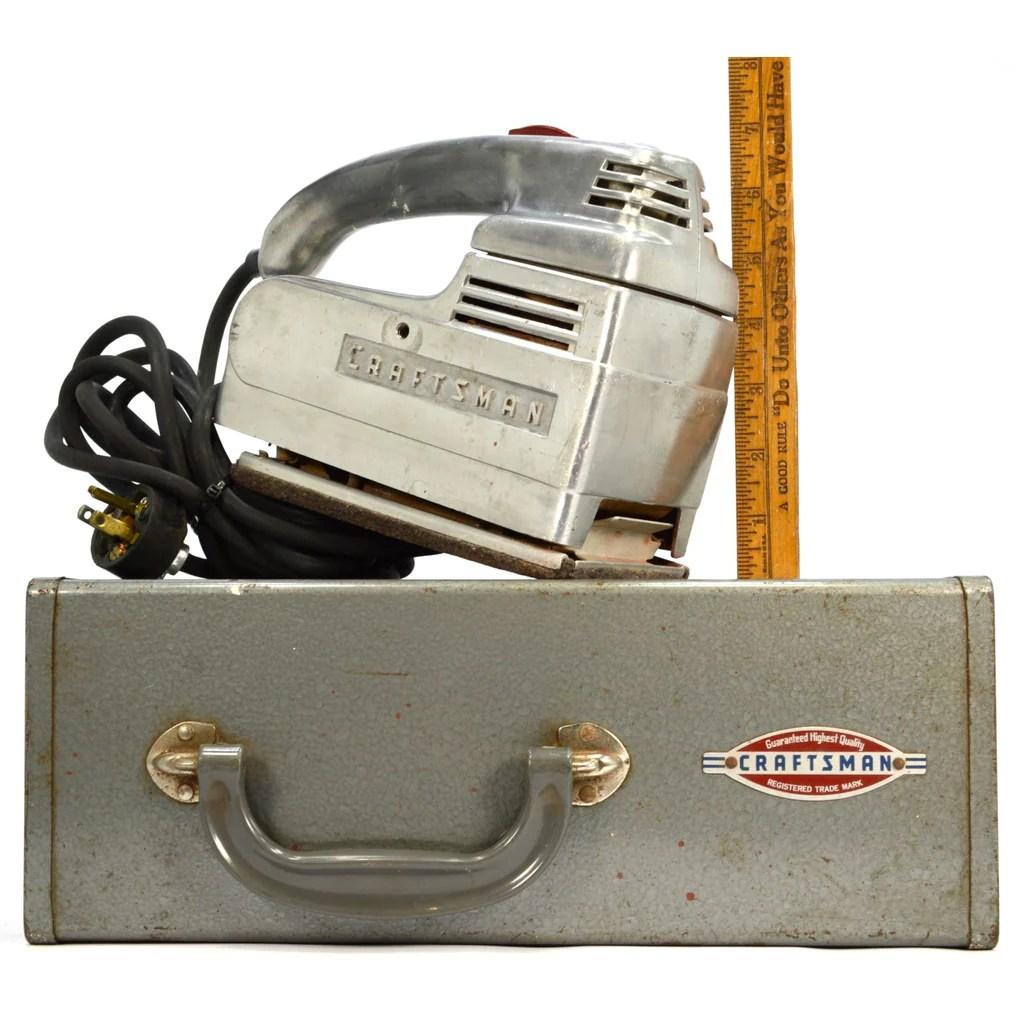Antique Craftsman Power Tools