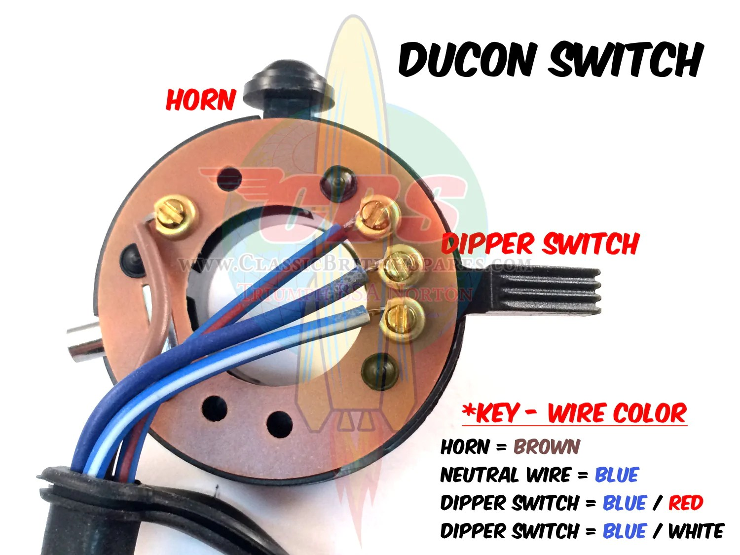 small resolution of  wipac ducon switch wiring diagram