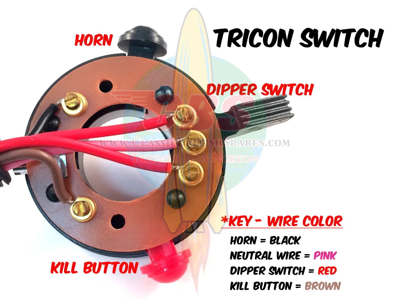 wipac tricon switch wiring diagram [ 1500 x 1125 Pixel ]