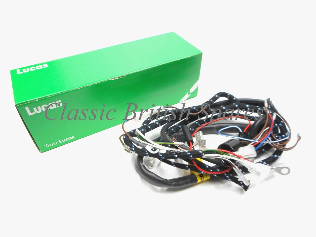 small resolution of bsa genuine lucas cloth bound wiring harness 54938942 1967 only a50 a65 500 650