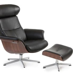 Swedish Leather Recliner Chairs Vinyl Chair Webbing Conform Designer Recliners | Singapore – The Bear Knows