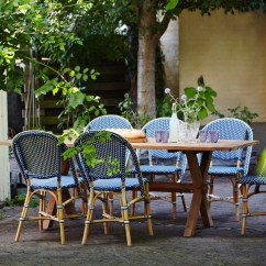 Parisian Cafe Chairs Back Cushion For Chair Bistro By Sika Design Outdoor Paris Usa