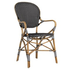 French Rattan Bistro Chairs Steel Chair For Office Sika Design Isabell Arm  Usa