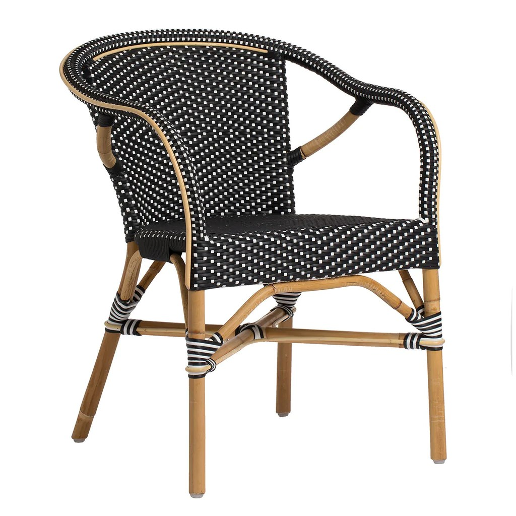 French Rattan Bistro Chairs